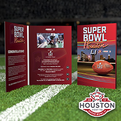 Super Bowl Video Brochure