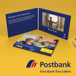 Postbank LCD Video Brochure