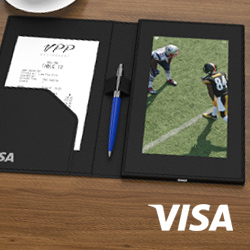 Visa-Video-Receipt-Holder