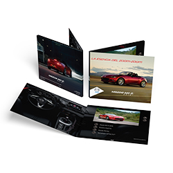 Mazda Oblong Video Brochure with 7 inch LCD Screen
