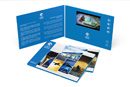 Video brochures, video mailers, video direct marketing mailers