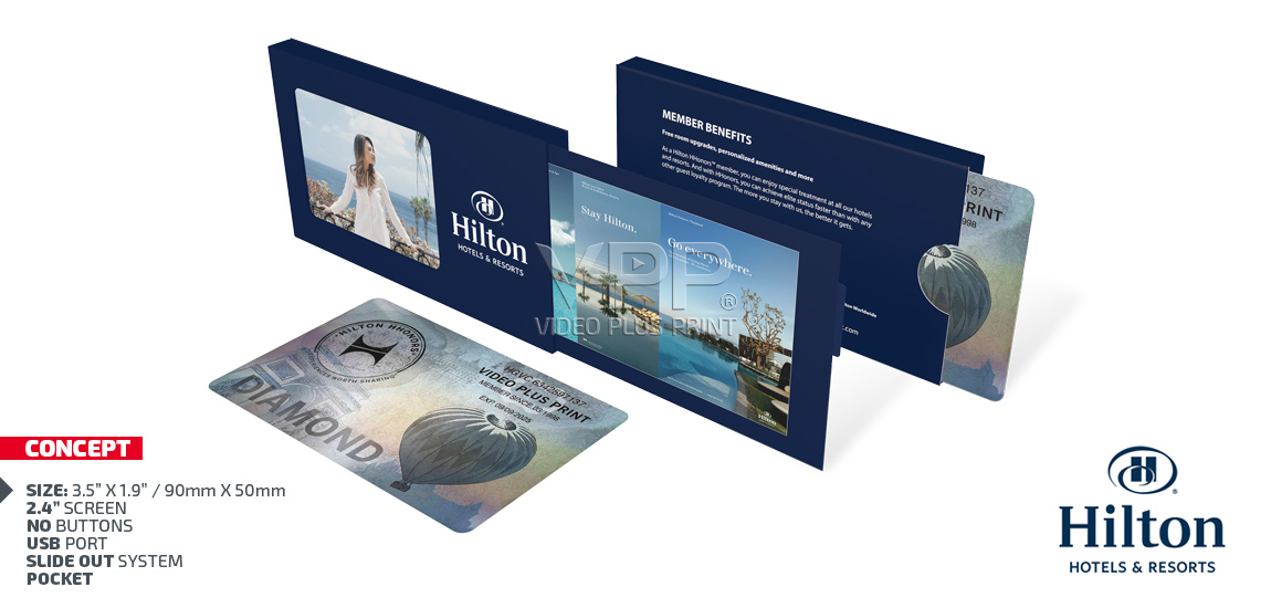 Video business cards from us12 video in a business card reheart Image collections