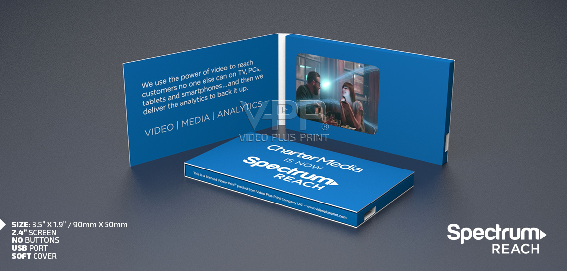 Video business card lcd business card reheart Image collections