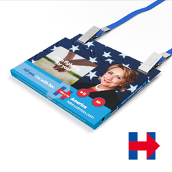 Hillary Clinton Video Business Card