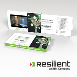 Video business cards video ads card resilient video business card reheart