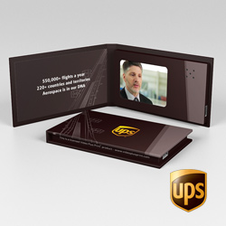 UPS Video Business Card