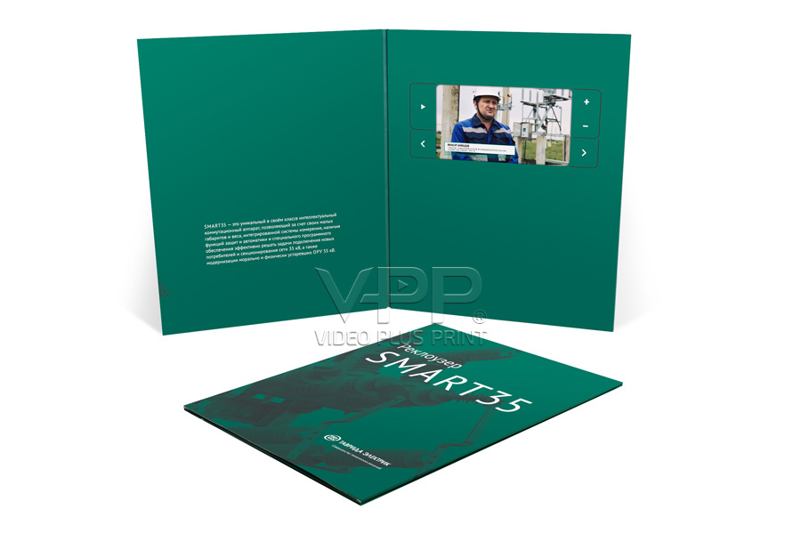 Lcd video greeting cards video birthday card video cards with lcd paper thin video inserts for smart 35 magazine m4hsunfo