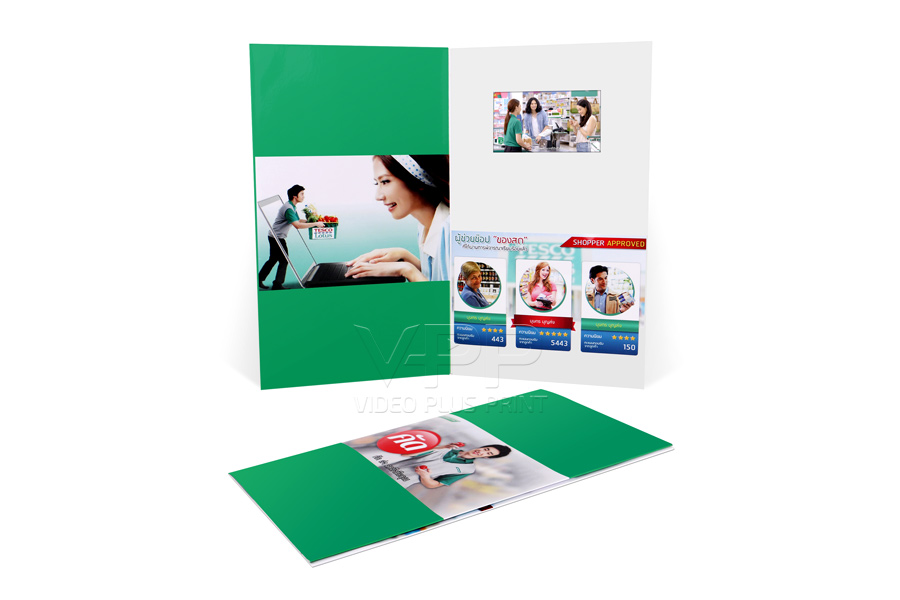 Lcd video greeting cards video birthday card video cards with lcd video magazine insert m4hsunfo
