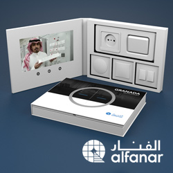 Alfanar-video-packaging | Video Presentation Boxes