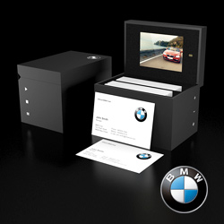 BMW-Video-Packaging | Video Presentation Boxes