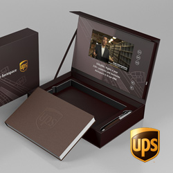 UPS-Video-Packaging | Video Presentation Boxes