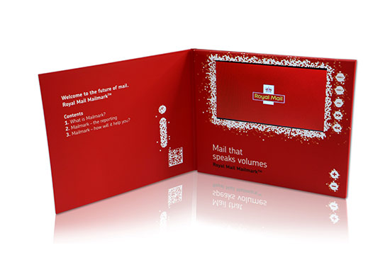 Royal Mail Video brochure and Video Brochures for corprate video presentation