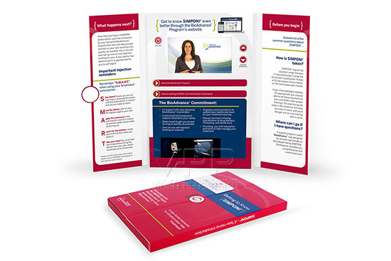 Simponi Video brochure and Video Brochures for corprate video presentation