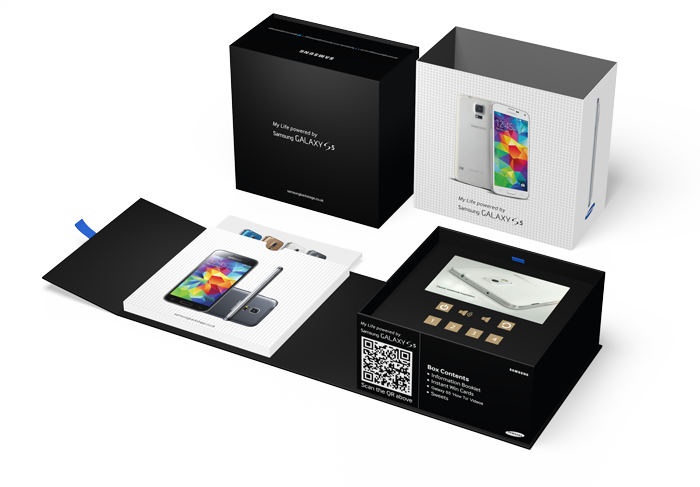 Samsung Video Presentation Box & Packaging